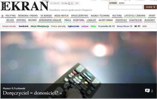 http://tokispress.nowyekran.pl/post/75159,doreczyciel-donosiciel
