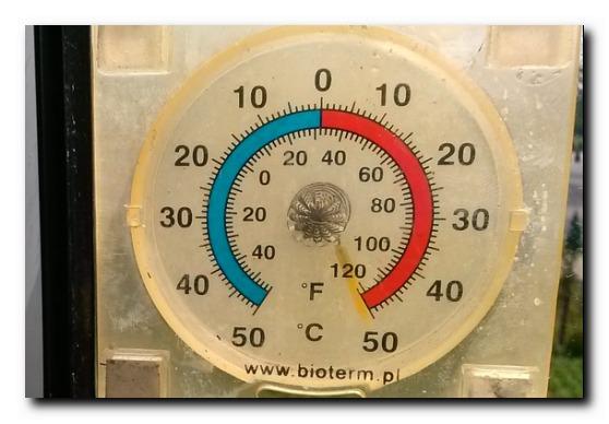 UFF, jak gorąco!