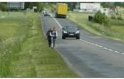 Mieszkańcy Bladowa mają dosyć ryzyka, żądają bezpiecznej ścieżki  do Tucholi!