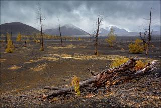 Krajobraz Kamczatki