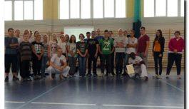 BYSŁAW: Warsztaty capoeiry w ZESPOLE SZKÓŁ w Bysławiu