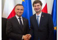 Jerzy Kowalik wziął udział w spotkaniu z Prezydentem Rzeczpospolitej Polskiej Andrzejem Dudą