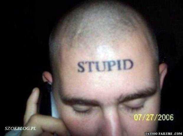 Tatuaże Szczyt Obciachu