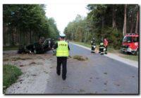Wypadek na trasie Tuchola – Śliwice