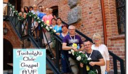 Tucholski Chór Gospel AVE w koncercie charytatywnym na rzecz Kingi Szwedy