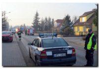 Zderzenie czterech aut w Tucholi