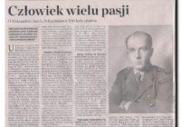 Tucholska MBP uczci 108 rocznicę urodzin swojego patrona!