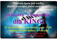 Orkiestra Campanella w koncercie na rzecz chorej Kingi!