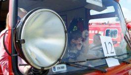 Zlot pojazdów pożarniczych i militarnych w Gostycynie