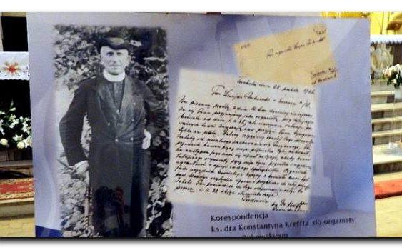Wystawa – dokument o ks. Kreffcie w Tucholi