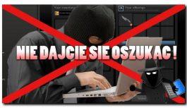 POLICJANCI  Z CHOJNIC OSTRZEGAJĄ PRZED OSZUSTAMI !