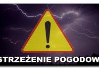 Ostrzeżenie pogodowe!