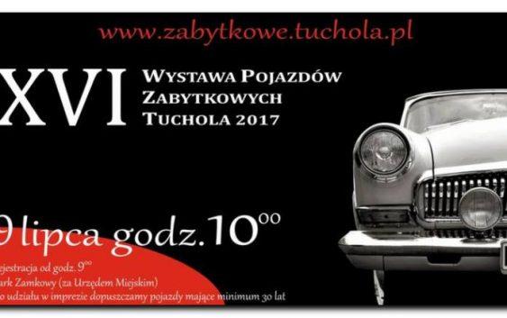 Pod naszym patronatem. XVI WYSTAWA POJAZDÓW ZABYTKOWYCH TUCHOLA 2017