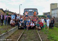 """Pociąg specjalny """"Bory Tucholskie"""" pojawił się również w Tucholi!"""