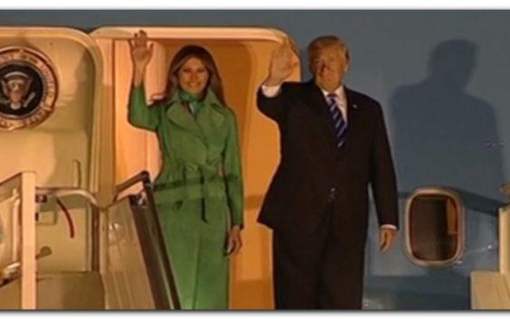 Prezydent Trump jest już w Polsce!
