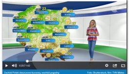 Prognoza na dziś: deszcz, grad, silny wiatr. Pogoda może być niebezpieczna