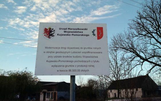 Zakończenie modernizacji drogi w Lubocieniu