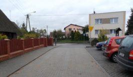 Ulica Krótka w Raciążu gotowa