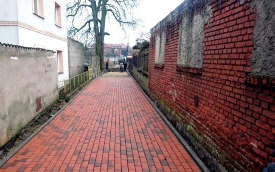 15 stycznia zakończy się remont Wałowej i Podgórnej w Tucholi
