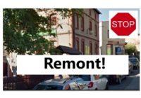 UWAGA! KOMUNIKAT! Ulica PODGÓRNA  w Tucholi zostaje wyłączona z ruchu, ograniczenia przy Rycerskiej!!
