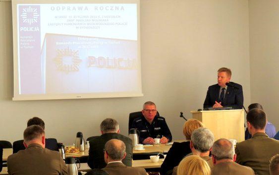 Tucholska policja podsumowała rok pracy