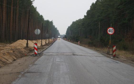Dzieje się na budowie trasy z Tucholi do Świecia