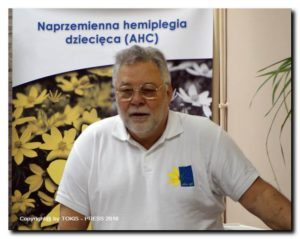 Marek Parowicz - wiceprezes Polskiego Stowarzyszenia na Rzecz Osób z AHC.