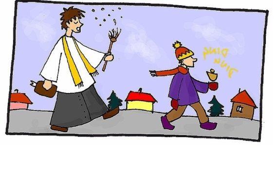 Plan kolęd w poszczególnych parafiach