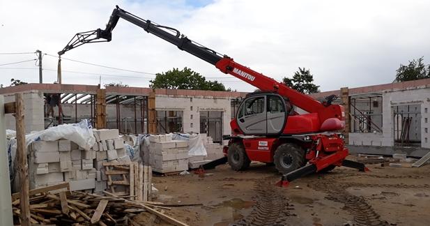 Trwa budowa nowego przedszkola w Gostycynie