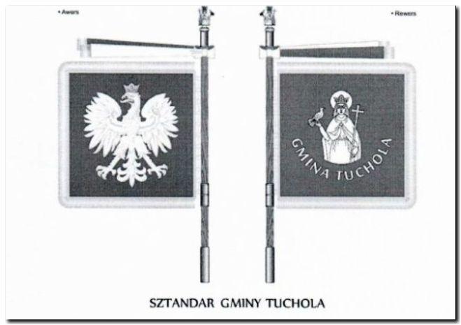 KOMISJA HERALDYCZNA ODRZUCIŁA NOWY PROJEKT SZTANDARU GMINY TUCHOLA
