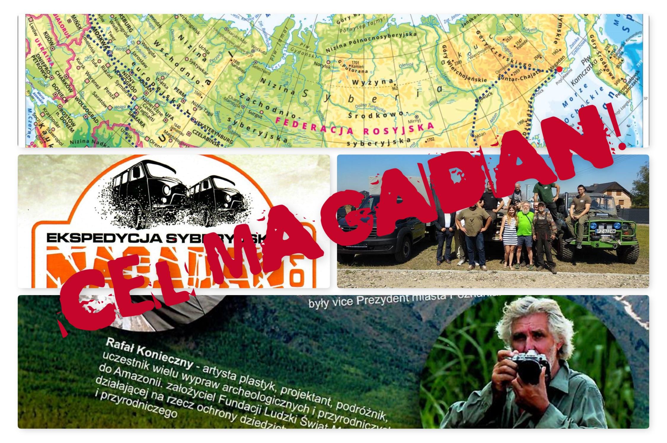 Przyjaciel naszej gminy wraz z kolegami, wyruszają do Magadanu