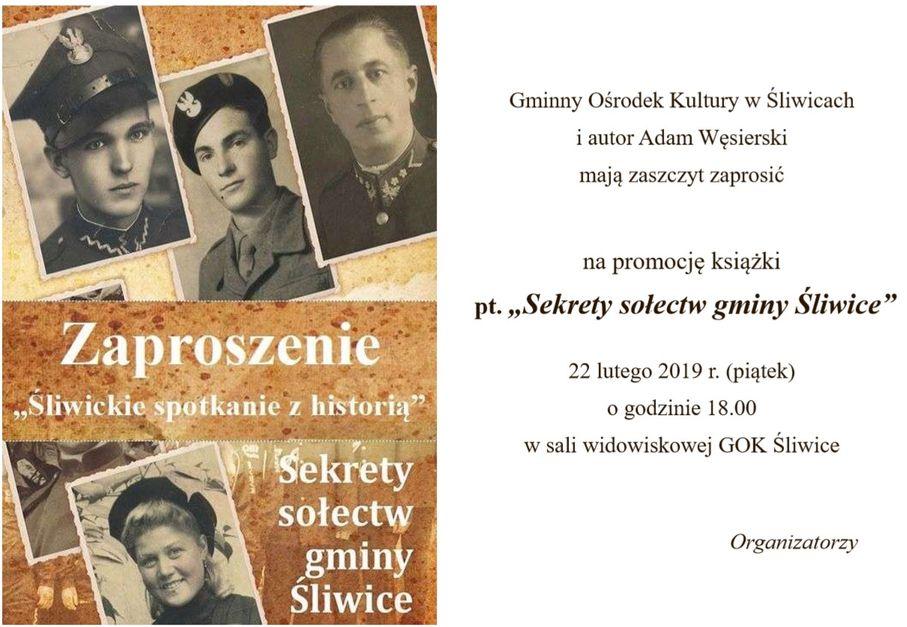 """""""Sekrety sołectw gminy Śliwice"""" – kolejna książka Adama Węsierskiego trafia do naszych rąk!"""