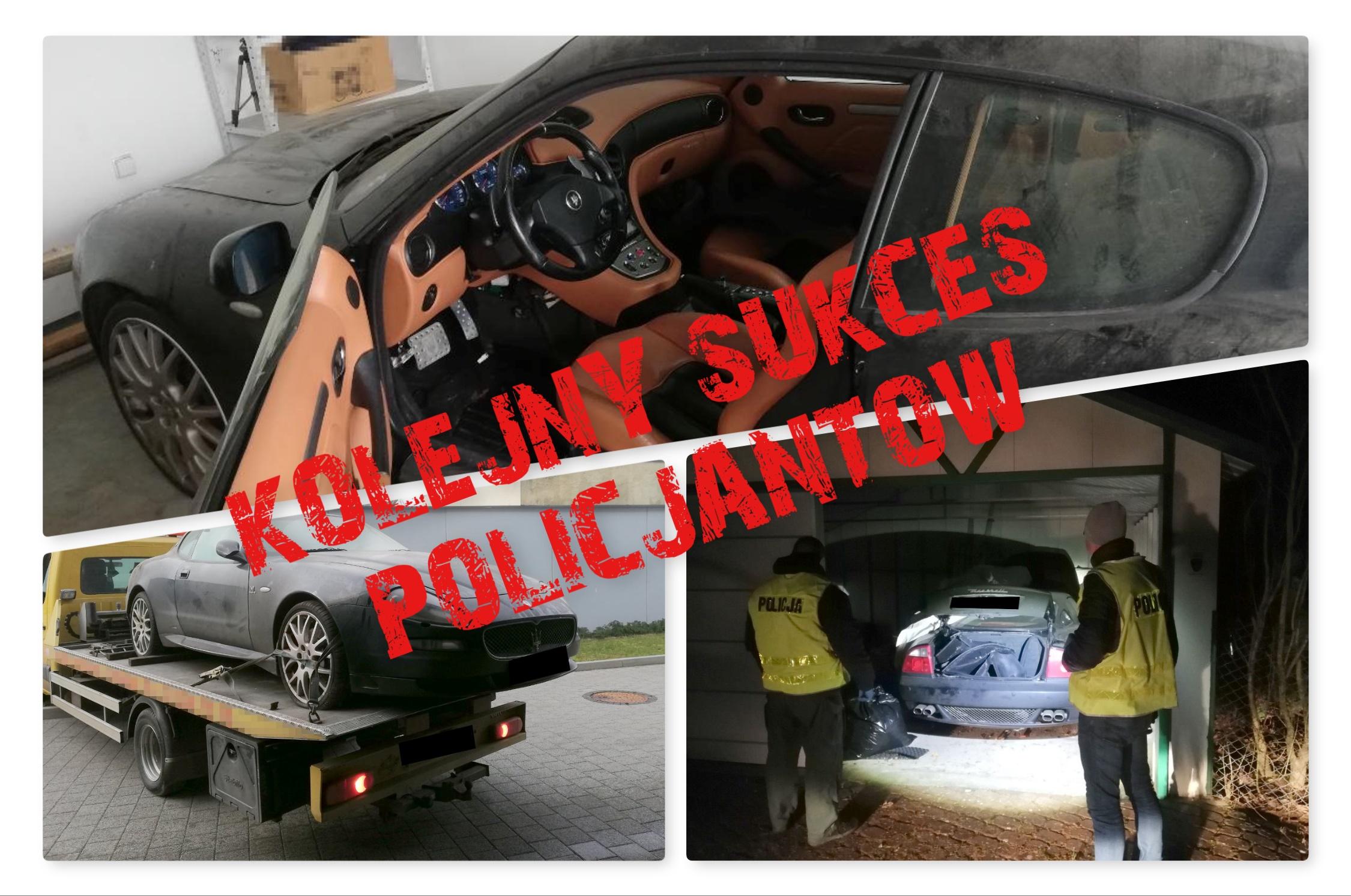 Skradzione w Holandii auto za ćwierć miliona, policja odnalazła w… gm.Cekcyn!