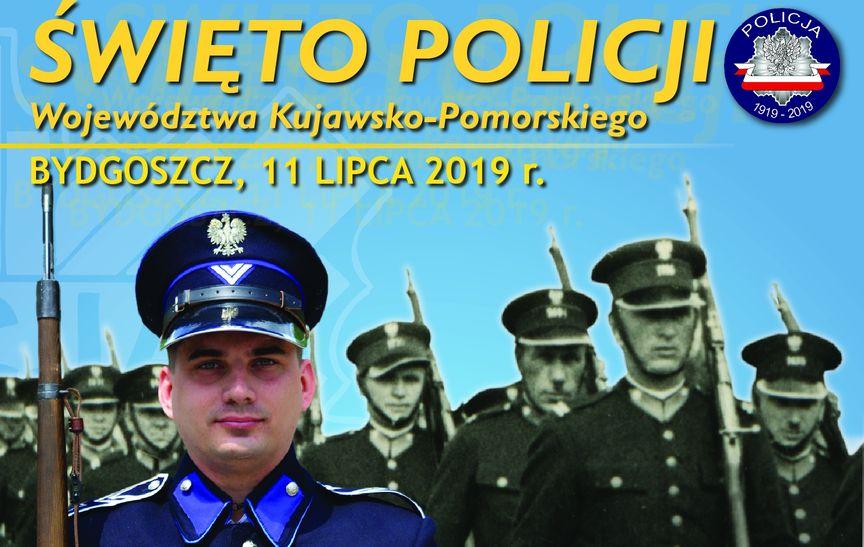 Wojewódzkie obchody Święta Policji garnizonu kujawsko – pomorskiego