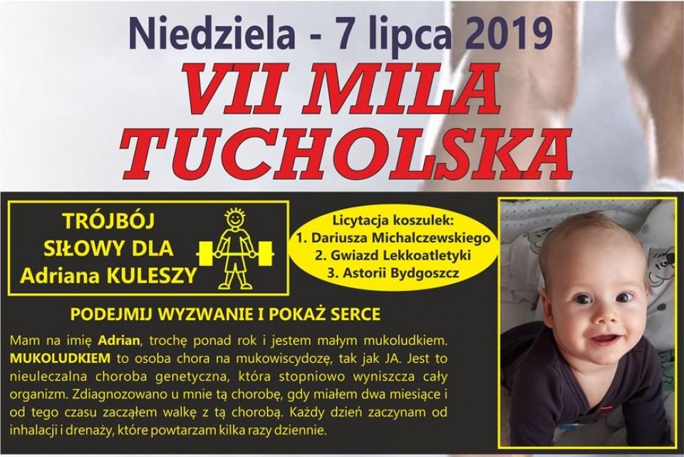 VII Mila Tucholska i Trójbój Siłowy dla Adriana