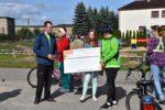 Dokonano podsumowania V Charytatywnego Rajdu Rowerowego Banku Spółdzielczego w Koronowie