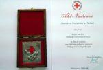 100-lecie PCK w Tucholi z medalem dla Starostwa Powiatowego w Tucholi