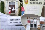 Praca lokalnych urzędów i komunikat starostwa